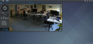 Liveansicht der Synology Surveillance Station
